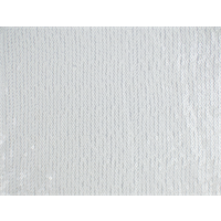 *2 3/4 YD PC--White Sequin Mesh