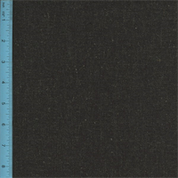 *4 YD PC--Linen Blend Woven Tweed Maison Black Home Decorating Fabric