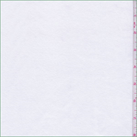 *3 YD PC--White (PFD) Cotton Rib Knit
