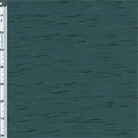 *2 1/2 YD PC--Teal Slub Jersey Knit