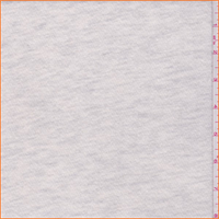 *2 1/2 YD PC--Ivory Heather French Terry Knit