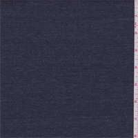 *3 1/8 YD PC--Heather Denim Blue Sweatshirt Fleece