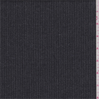 *3 1/4 YD PC--Slate Grey Pinstripe Wool Suiting