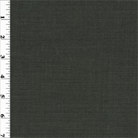 *2 1/2 YD PC--Grey Wool Stripped Twill Suiting