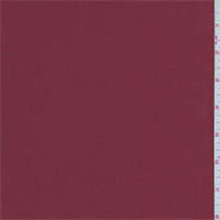 Deep Brick Red Gabardine Shirting