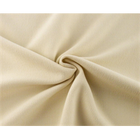 *3 YD PC--Cream Double Weave Crepe