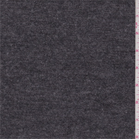 *1 YD PC--Heather Charcoal Grey Sweater Knit