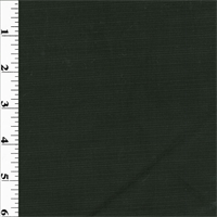 *3 3/4 YD PC--Black Pin-Stripe Wool Gabardine Suiting