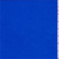 *1 5/8 YD PC--Royal Blue Rayon Jersey Knit