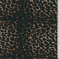 ITY Brown/Black Leopard Jersey Knit