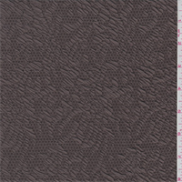 *3 1/2 YD PC--Bark Brown Jacquard Knit