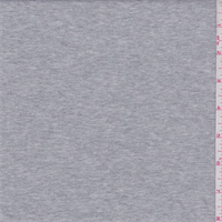 *3 YD PC--Heather Grey Micro French Terry Knit