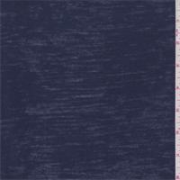 Dark Blue Burn Out T-Shirt Knit