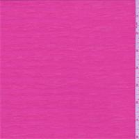Neon Pink Wavy Stripe Burn Out T-Shirt Knit