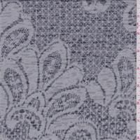 Grey Baroque Burn Out T-Shirt Knit