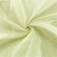 Parchment Yellow/Silver Tiara Linen Lame Drapery Fabric