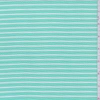 Seafoam/White Stripe Wicker Liverpool Knit