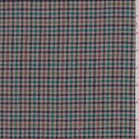 Tan Multi Mini Check Flannel