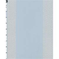 *3 1/4 YD PC--Powder Blue Jacquard Damask Satin Wide Stripe Decor Fabric