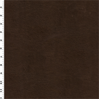 *2 3/8 YD PC--Faux Leather - Mocha Brown