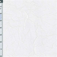 *1 YD PC--Off White Crushed Silk Taffeta