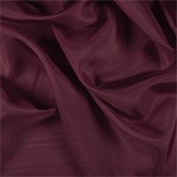 *1 YD PC--Dark Red Silk Habotai