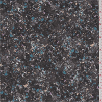 *3 YD PC--Pewter Multi Speckled Crepe de Chine