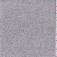 *2 YD PC--Light Heather Grey French Terry Knit