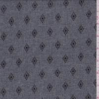 Heather Black Diamond Kite Chambray