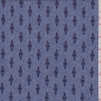 Heather Blue Diamond Chambray