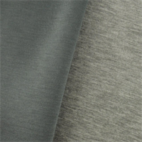 *2 1/2 YD PC--Heather Gray Modal Double Knit Jersey