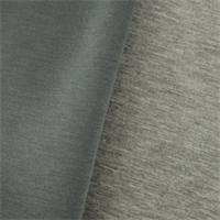*2 1/2 YD PC--Heather Gray Modal Double Knit Jersey