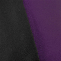 *2 1/2 YD PC--Purple/Black Modal Scuba Knit