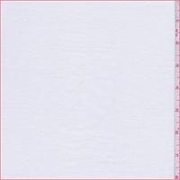 *1 1/2 YD PC--Optic White Rayon Jersey Knit
