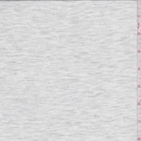 Heather White/Grey T-Shirt Knit