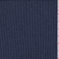 Denim Blue Accordian Knit