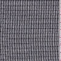Black/Grey Check Lightweight Suiting