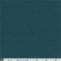 *3 5/8 YD PC--Mallard Teal Rib Jersey Knit