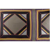 *1 PANEL--Multi Silk Scarf Print Crepe de Chine