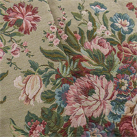 Wool Blend Floral Upholstery Fabric Fashion Fabrics