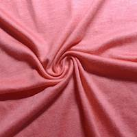 Coral Pink Rayon Jersey Knit