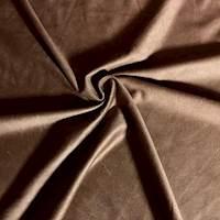 Medium Brown Knit Microsuede