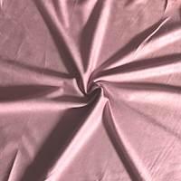 Rose Pink Knit Microsuede