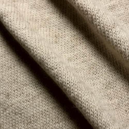 faa544e722b Oatmeal Wool Blend Sweater Knit - 68345   Fashion Fabrics