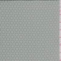 Seafoam/Beige Geometric Jacquard Suiting