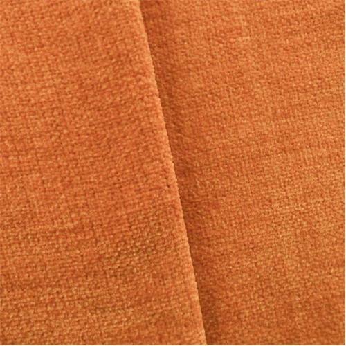 Yam Orange Chenille Home Decorating Fabric Fabric By The