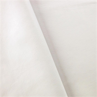*5/8 YD PC--White  Stretch Faux Leather