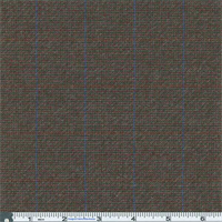 *2 3/8 YD PC--Multicolor Muted Plaid Suiting