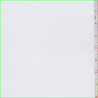 *2 3/8 YD PC--White Polyester Stretch Lining
