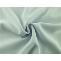 *1 7/8 YD PC--Ice Blue Double Weave Crepe